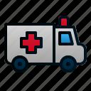 ambulance, car, healthcare, hospital, transportation, travel, vehicle