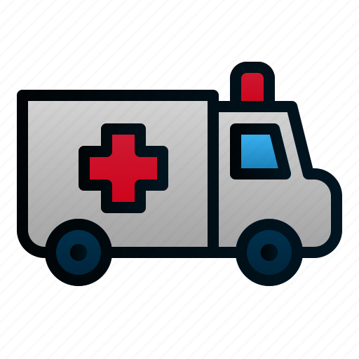 Ambulance, car, healthcare, hospital, transportation, travel, vehicle icon - Download on Iconfinder
