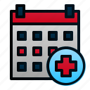 appointment, calendar, check up, date, schedule, time icon