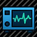 beat, ecg, electrocardiograph, hearth, hospital, machine, tools