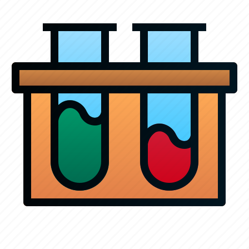 experiment, healthcare, hospital, laboratory, medical, science, test tube icon
