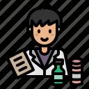 medical, pharmacist, doctor, avatar, hospital