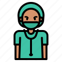 medical, surgeon, avatar, doctor, hospital