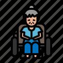 medical, wheelchair, patient, elderly, hospital
