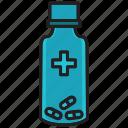 bottle, drug, health, hospital, medical