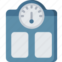health care, hospital, medical, scales, screen icon