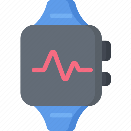 apple, health care, heart, hospital, medical, monitor, watch icon