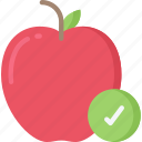 apple, good, health, health care, hospital, medical icon