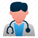 avatar, doctor, hospital, male, man, people, profession