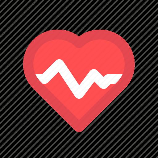 healtycare, heart, heartbeat, pulse icon