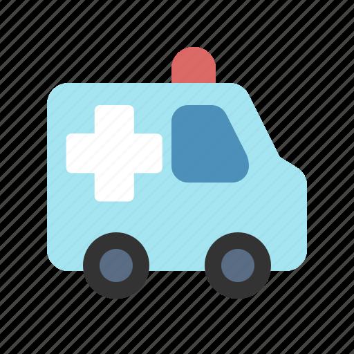ambulance, car, doctor, health, hospital, medic, medical icon