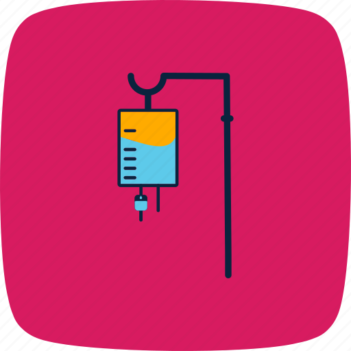 dose, drip, hospital, iv, medical, recovery, treatment icon