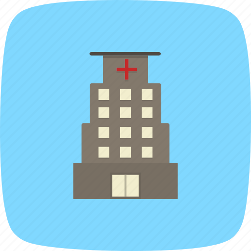 building, care, clinic, healthcare, hospital, medical, treatment icon