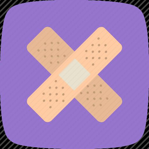 aid, aidband, band, emergency, medical, safe, secure icon
