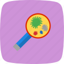 bacteria, disease, germs, infection, insect, virus icon