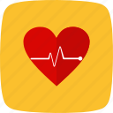 ecg, heartbeat, lifeline, pulsation, pulse, pulserate, rate icon