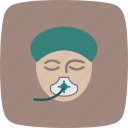 anesthesia, emergency, surgery icon