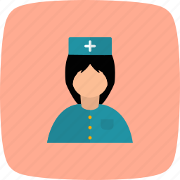 clinic, female, healthcare, medical, nurse, profession, woman icon