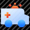 ambulance, emergency, health, healthcare, hospital, medical, medicine icon