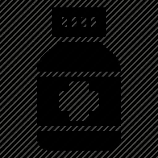 Bottle, drug, health, healthcare, hospital, medical, medicine icon - Download on Iconfinder