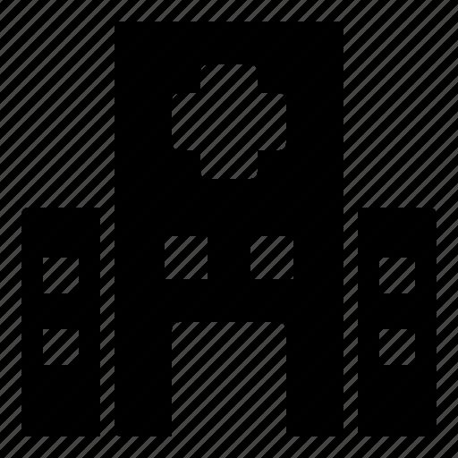 Building, city, construction, estate, healthcare, hospital, medical icon - Download on Iconfinder