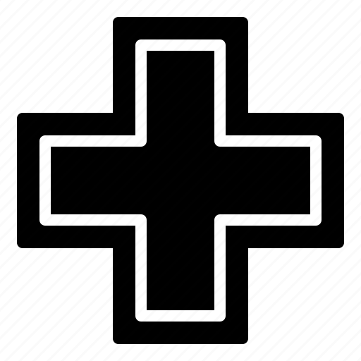 Cross, doctor, health, healthcare, hospital, medical, medicine icon - Download on Iconfinder