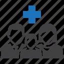 family, health, healthcare, insurance icon