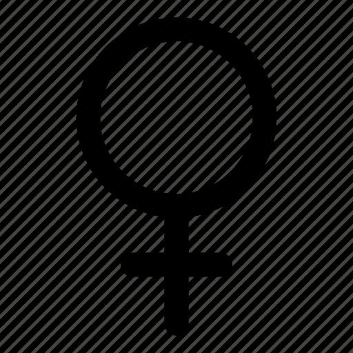 female, girl, human, user, woman icon