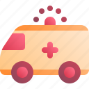 ambulance, car, emergency, hospital, medical icon