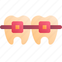 bracket, dentist, medical, tooth