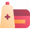 care, health, medical, ointment icon
