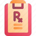 health, medical, pharmacy, prescription icon