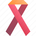 care, health, medical, ribbon icon