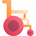 chair, hospital, medical, whellchair icon