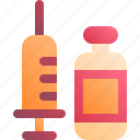 injection, medical, syringe, vaccine
