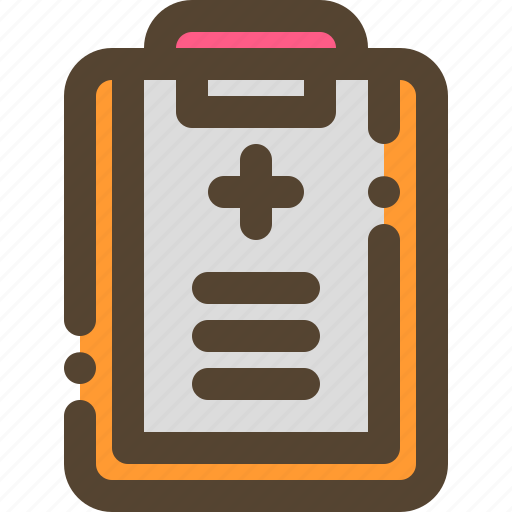 Health, hospital, medical, report icon - Download on Iconfinder