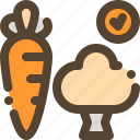 carrot, health, healthy, vegetable icon