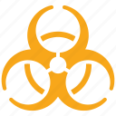 biological hazard, contamination, danger, health risk icon