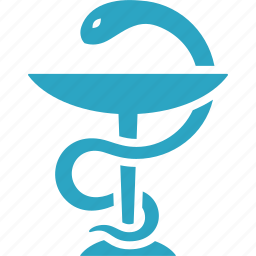 healthcare, medicine, pharmacy, snake icon