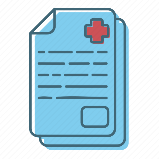 doctor, health, icon, medical, paper, payment icon