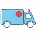 ambulance, car, health, icon, medical icon