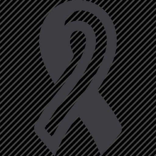 awareness ribbon, breast cancer, health, ribbon icon