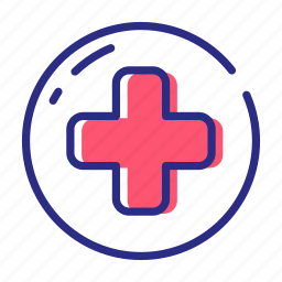 aid, health care, healthcare, medical, red cross icon