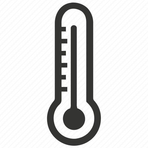 heat, high, hot, temperature, thermometer icon