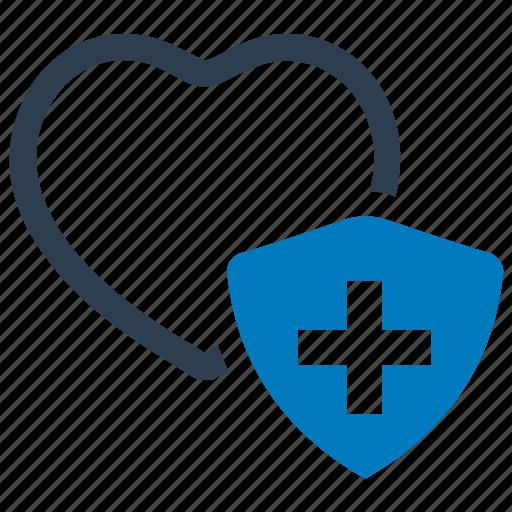 health, heart, insurance, life, protection icon