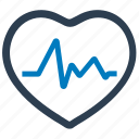 analysis, cardiogram, cardiology, electrocardiography, heart, heartbeat icon