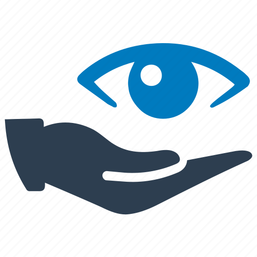 care, donate, eye, protection, vision icon