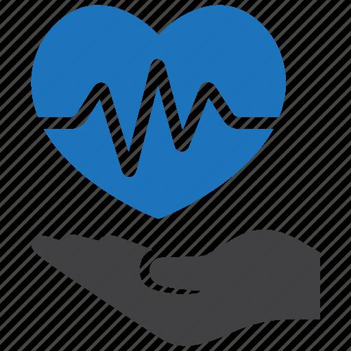 care, health, heart icon