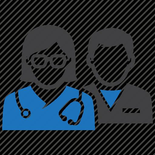 doctor, medical, nurse, personel icon