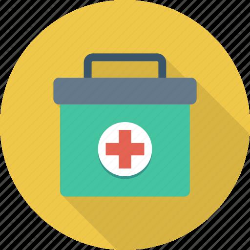 aid, box, first, kit, medical, medicine icon